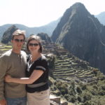 Mike and Luci at Machu Picchu