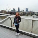 Kathrin on bridge