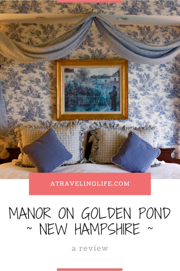 The Manor on Golden Pond is a charming bed and breakfast right in the heart of the Lakes Region of New Hampshire. Click through to read my full review plus some suggestions for things to do. | Holderness, New Hampshire | Meredith, New Hampshire | Manor on Golden Pond Review | New Hampshire things to do in winter | New England | #HotelReview #NewHampshire #NewEngland