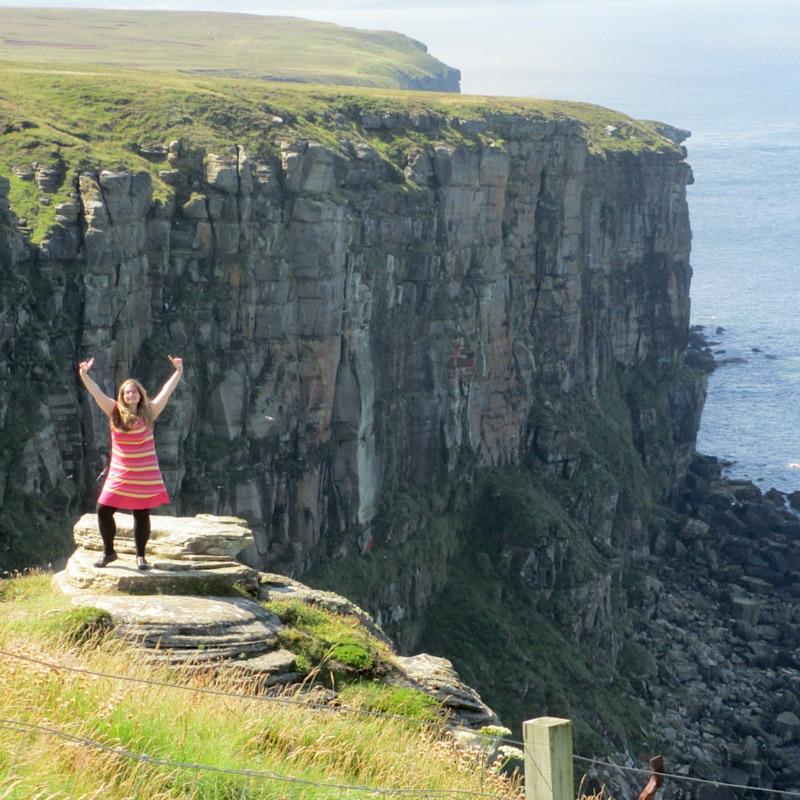 Rachel Elizabeth in Scotland