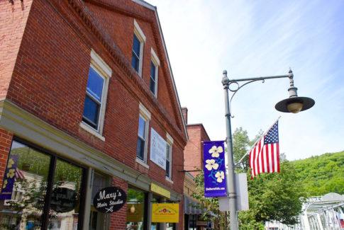 Main Street of Shelburne Falls, Massachusetts