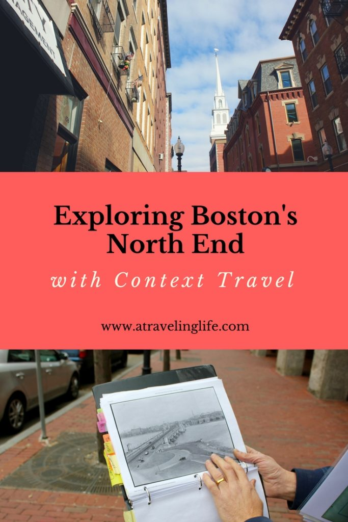 Explore the North End in Boston with Context Travel. See the top sights, learn and sample more than cannolis. Click through to read what to expect during one of their small group walking tours around Boston's North End. | What to do in Boston | North End Boston | Things to do in Massachusetts | #Boston #NorthEnd #VisitMA #Massachusetts #TravelTips