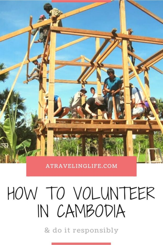 How to be a responsible volunteer in Cambodia. Here are 10 opportunities recommended by Aviv Hochbaum of GivingWay. | Responsible volunteer | Cambodia travel and volunteer | Cambodia volunteer | Responsible travel | Where to volunteer in Cambodia | Volunteering abroad | Volunteer building in Cambodia | Projects in Cambodia | #Cambodia #Volunteer #ResponsibleTravel
