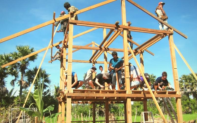 volunteer in Cambodia responsibly with Volunteer Building Cambodia