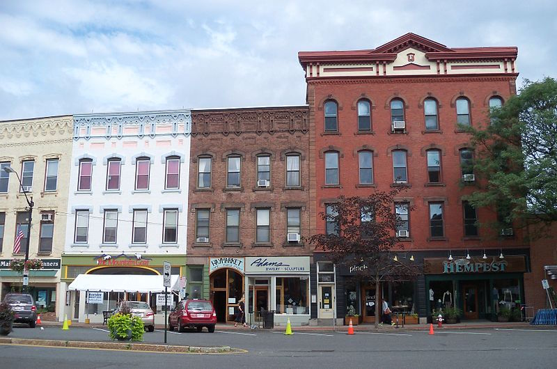 main street of Northampton, Massachusetts