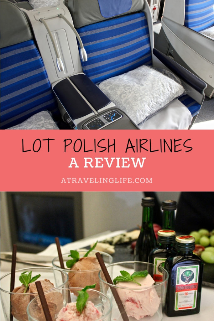 LOT Polish Airlines review. Read about what it was like to fly Business Class on LOT Polish Airlines' inaugural flight from Newark International Airport to Warsaw Chopin Airport. | Travel to Poland | Airline reviews | Business class flight | Business class review | #Poland #LOTPolishAirline #Review #BusinessClass