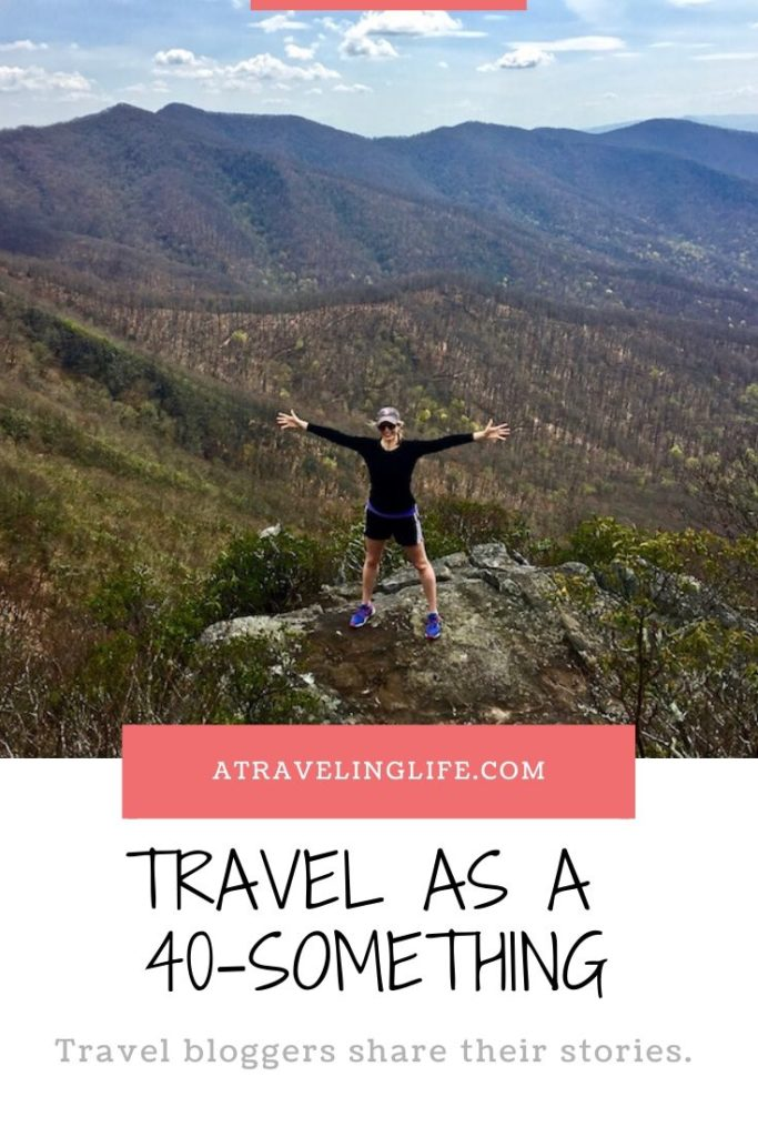 Celebrate 40-Something Travel by reading first-hand accounts of 18 travel bloggers in their forties. | Advantages of traveling in your 40s | Travelers over 40 | Stories from 40-something travelers | How traveling in your 40s is different than traveling in your 20s | Travel in your 40s | Solo travel in your 40s | Couples travel in your 40s | #TravelStories #TravelInspiration