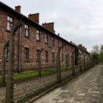 buildings at Auschwitz concentration camp