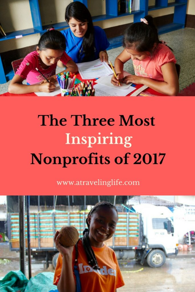 These are the three most inspiring nonprofits I encountered in 2017.