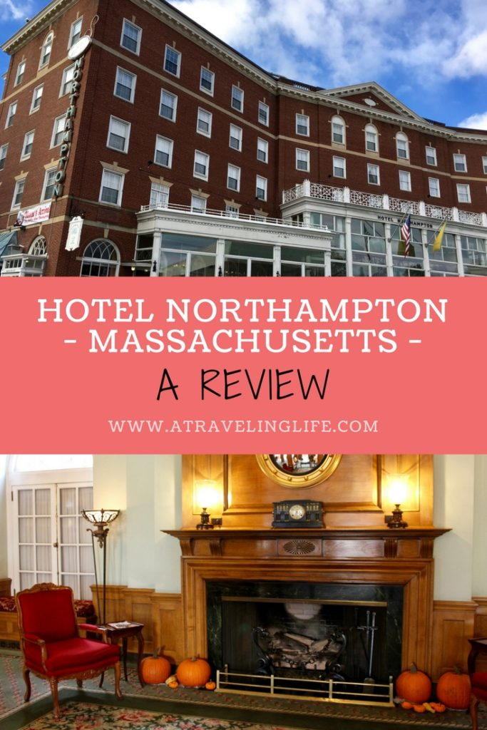 Hotel Northampton is a historic hotel in Northampton, Massachusetts and the perfect location to spend a night during a Hampshire County road trip. Click through to read my full Hotel Northampton review. | Historic hotels of America | Western Massachusetts | Pioneer Valley Massachusetts | #HotelReview #Massachusetts #PioneerValley