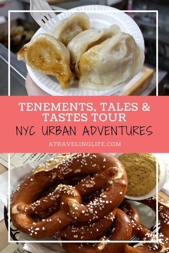 Unique things to do in NYC: Tour three Lower Manhattan neighborhoods with Urban Adventures on their Tenements, Tales and Tastes tour. Learn more about what you'll see and taste on this tour in my full review. | Small group tours | What to do in New York City | Lower East Side NYC | Chinatown NYC | Little Italy NYC | #traveltips #NYC #NewYorkCity