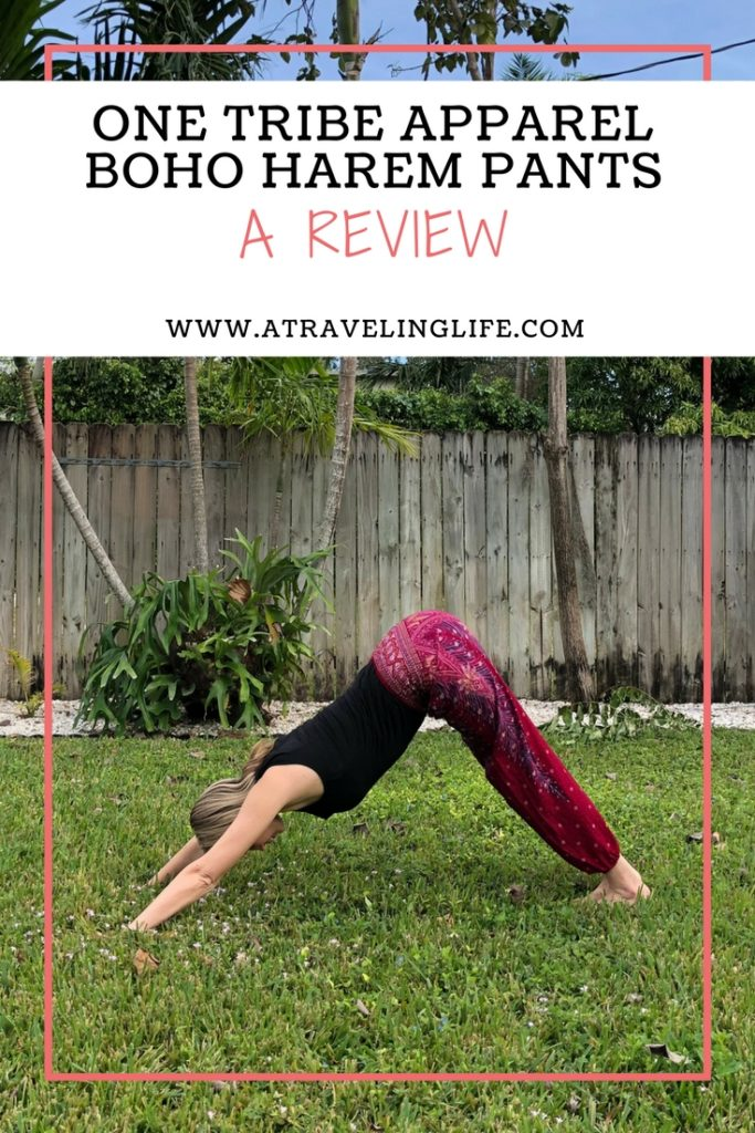 Here is my review for boho harem pants by One Tribe Apparel. Ethically produced in Thailand with traditional techniques and local materials, these are my go-to loungewear and pajamas when traveling to warmer climates. | One Tribe Apparel review | Harem pants for women | Ethical clothing brands | Ethical fashion | Travel fashion | #Review #EthicalClothing #Travel