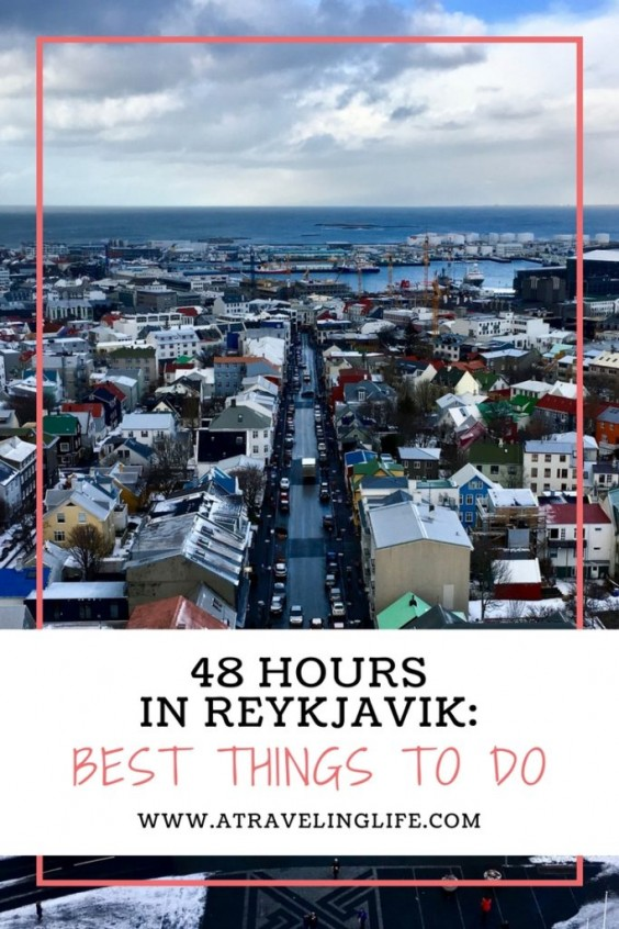 48 Hours in Reykjavik, Iceland | Whether you're in transit to another country, or getting ready to head out and explore Iceland's natural beauty, it's worth spending 48 hours in Reykjavik. Here are my recommendations of the best things to do during a two-day stopover, based on my February itinerary. | Reykjavik, Iceland Things To Do | Best things to do in Reykjavik, Iceland | Two days in Reykjavik, Iceland | #Iceland #Reykjavik #TravelTips