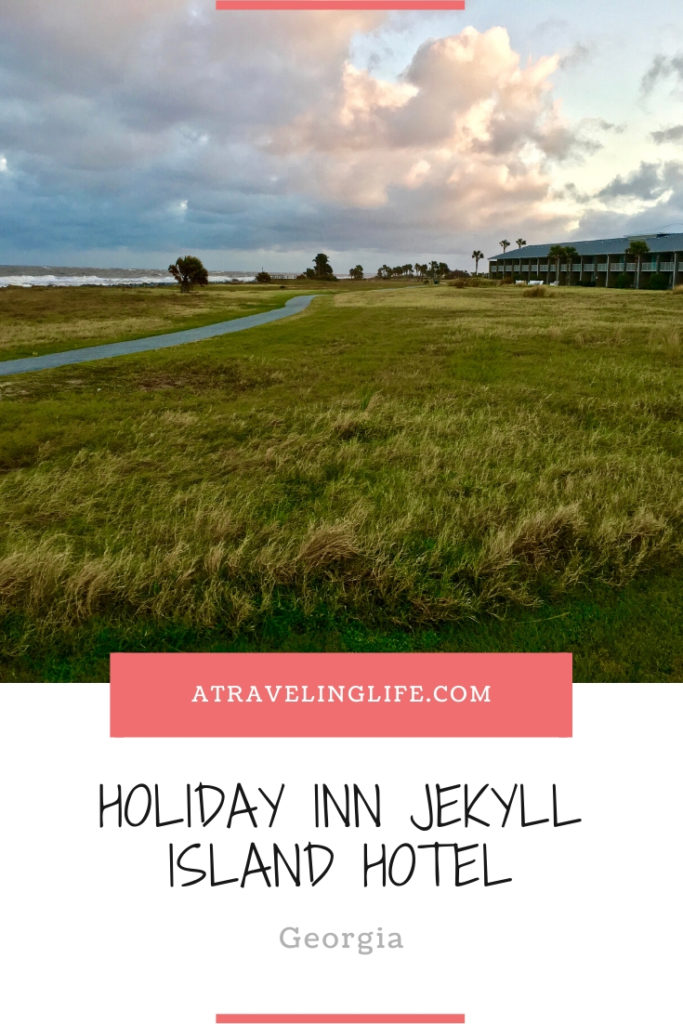 Here is my Holiday Inn Resort Jekyll Island Review based on my stay in the beach-front property in Jekyll Island, Georgia. | Where to stay in Jekyll Island, Georgia | Pet-friendly hotels | Jekyll Island Georgia hotels | Georgia travel tips | #Georgia #JekyllIsland #HotelReview