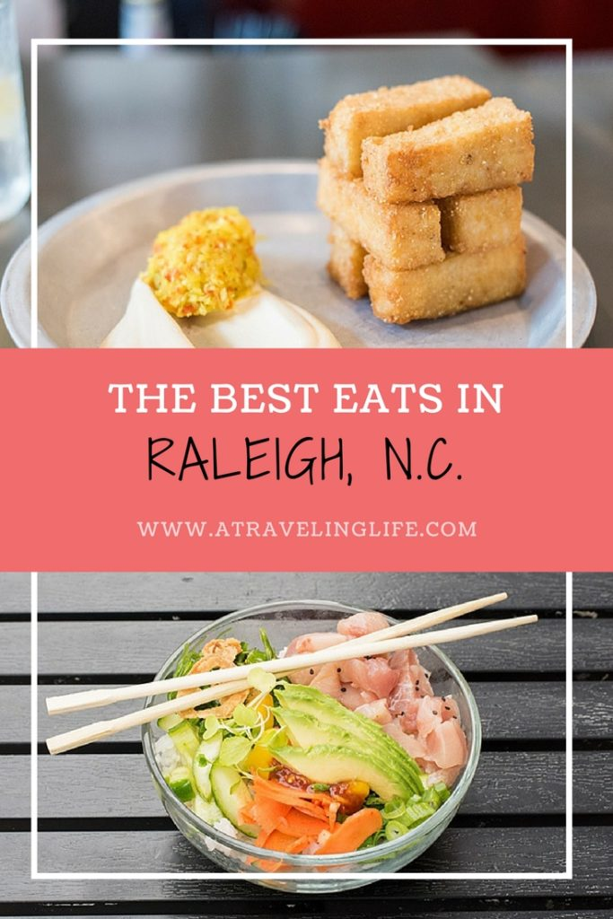 Are you looking for the best places to eat in Raleigh, North Carolina? Look no further, Mikkel Paige of Sometimes Home is a Raleigh local and has shared her top picks for best restaurants in Raleigh. | Raleigh NC restaurants | Where to eat in Raleigh NC | Raleigh restaurants | Best restaurants in Raleigh NC | #Raleigh #NorthCarolina #Foodie #TravelTips