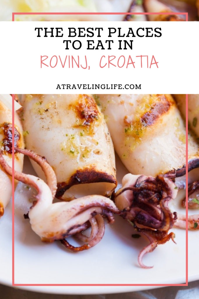 Are you looking for the best places to eat in Rovinj, Croatia? If you're a fan of Mediterranean cuisine, Rovinj is the place for you. | Restaurants in Rovinj | Rovinj bars | Rovinj Croatia Old Town | Things to do in Rovinj | #Rovinj #Croatia #Mediterranean #Foodie #TravelTips