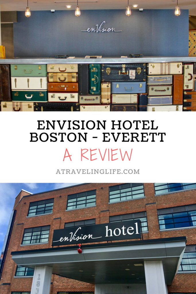 Consider staying at enVision Hotel Boston Everett, a boutique hotel north of Boston. Click through to read my full review. | enVision Hotel Boston Everett review | Where to stay in Boston | Where to stay near Boston | Boston, Massachusetts | Hotels in Boston area | Boston hotel review | #Boston #Everett #Massachusetts #HotelReview