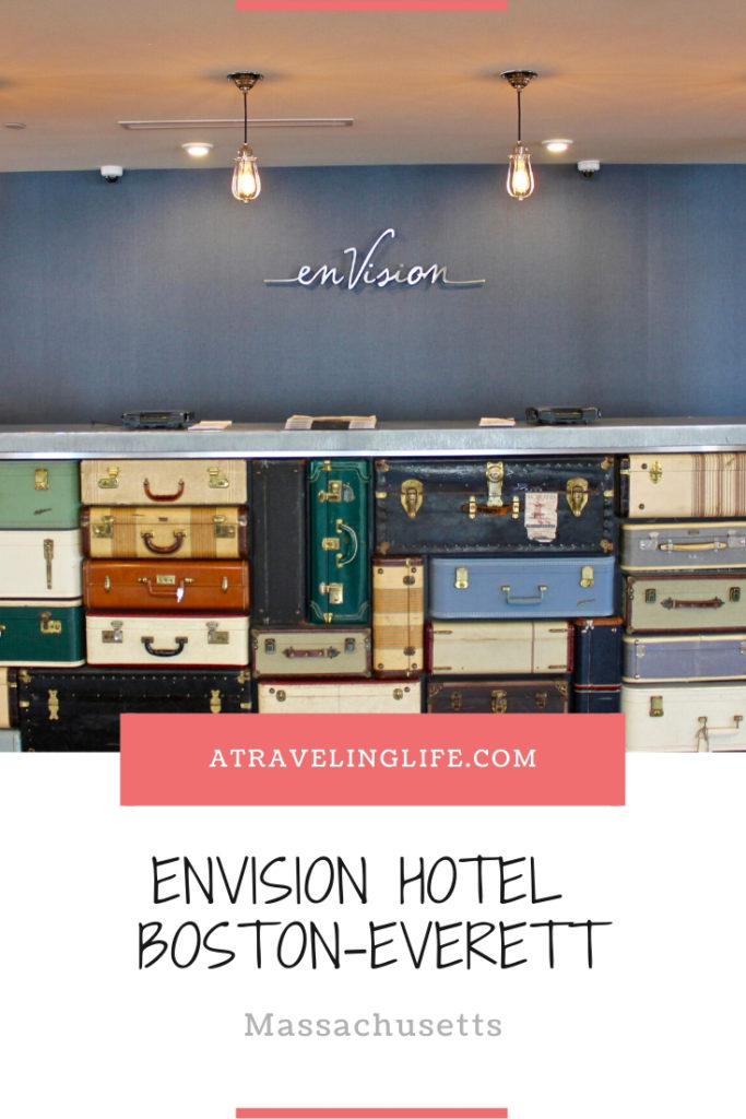 Are you looking for a unique boutique hotel in Boston for this summer? If so, check out my enVision Hotel Boston Everett review! | Where to stay in Boston | Boston, Massachusetts | Where to stay near Boston | Hotels in Boston area | Boston hotel review | #Everett #Boston #Massachusetts #HotelReview