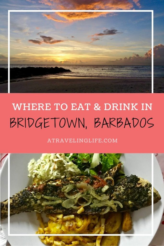 Here are the best places to eat in Bridgetown, Barbados. Cookbook author and foodie, Erika Ayn Finch, dishes on where to eat in paradise. | Bridgetown Barbados restaurant | Restaurants in Bridgetown Barbados | Things to do in Barbados | Oistins Fish Fry Barbados | Champers Barbados | #Bridgetown #Foodie #Barbados #TravelTips