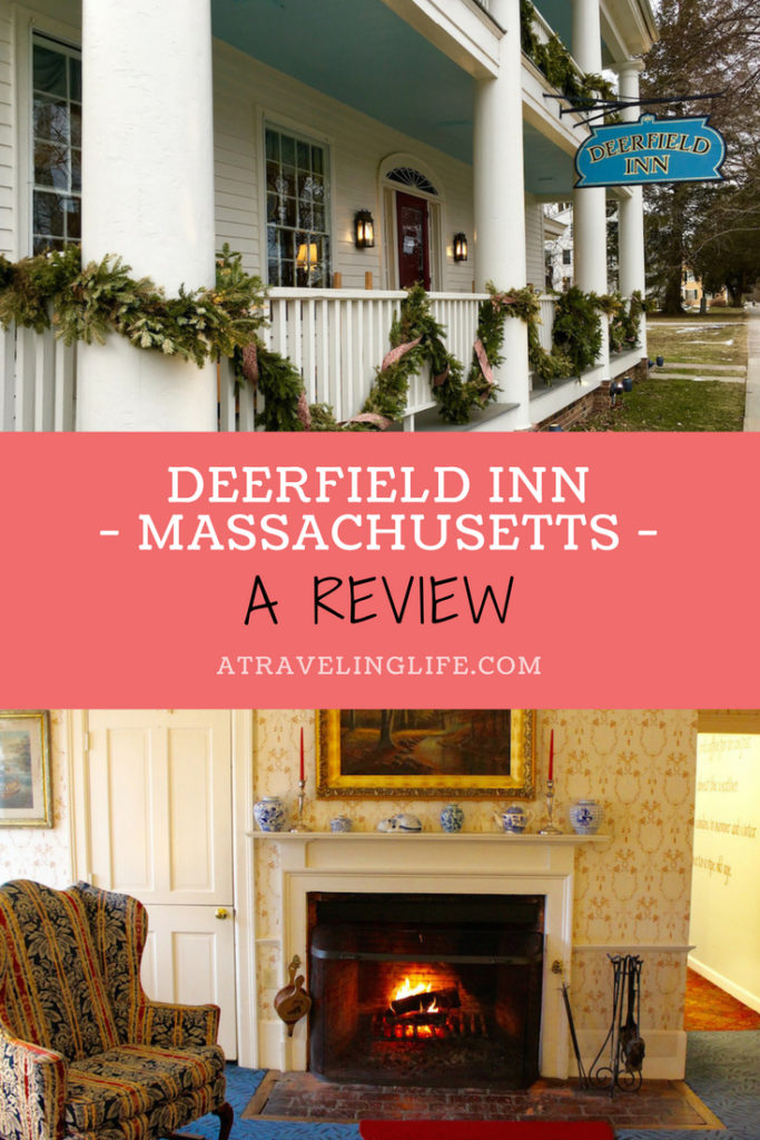 The Deerfield Inn is a cozy place to stay in the heart of historic Deerfield, Massachusetts. Click through to read my full review, including a few suggestions for what to do in Deerfield in the winter. | Deerfield Inn review | New England | Western Massachusetts | Pioneer Valley Massachusetts | #HotelReview #Deerfield #Massachusetts #PioneerValley