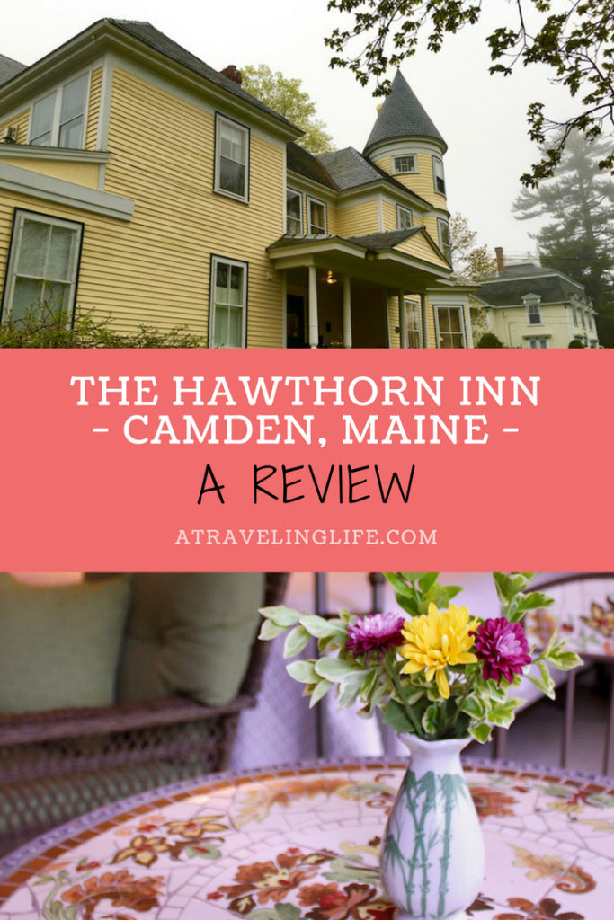 The Hawthorn Inn is a historic bed and breakfast in Camden, Maine. Click through to read my full review, which includes things to do in Camden, Maine, and places to eat in Camden. | Camden Maine hotels | Camden Maine things to do | Mid Coast Maine | What to do in Camden, Maine | Where to eat in Camden, Maine | Hawthorn Inn review | #HotelReview #Maine #Camden #NewEngland