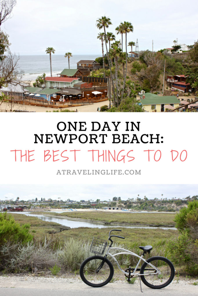 These are the best things to do if you have one day in Newport Beach, California. | Things to do in Newport Beach | One day itinerary Newport Beach | Crystal Cove State Park | Where to eat in Newport Beach | Where to stay in Newport Beach | Upper Newport Bay Ecological Reserve | Things to do in California | #California #NewportBeach #TravelTips