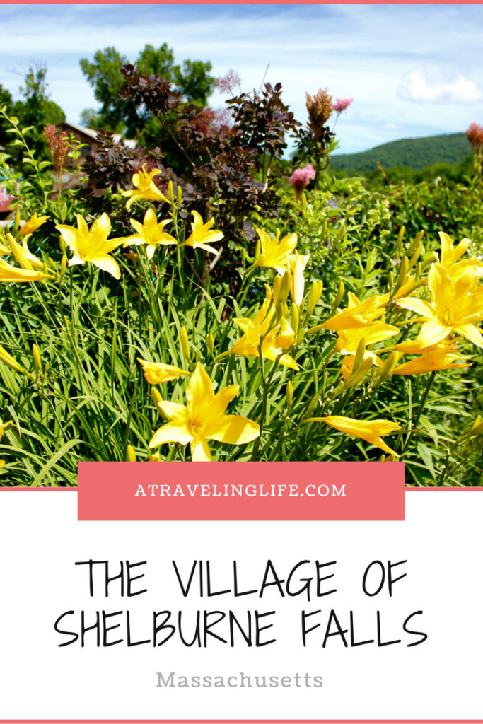 Visit the Village of Shelburne Falls, Massachusetts. Head to Western Massachusetts to see a beautiful Bridge of Flowers and ancient Glacial Potholes in this off-the-beaten-path destination. | Bridge of Flowers Shelburne Ma | Things to do in Western Massachusetts | Shelburne Falls potholes | Things to do in Shelburne Falls | #Massachusetts #TravelTips #WesternMass