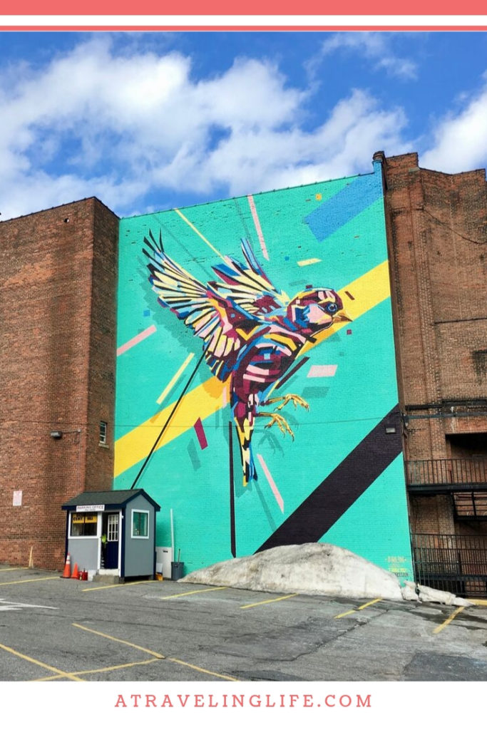 Are you looking for the best things to do in Worcester, Massachusetts? It's a great day trip from Boston and one of my favorite cities in New England! | Worcester restaurants | Worcester bars | Worcester shops | Worcester hotels | Worcester street art | #visitMA #VisitCentralMA #NewEngland #streetart