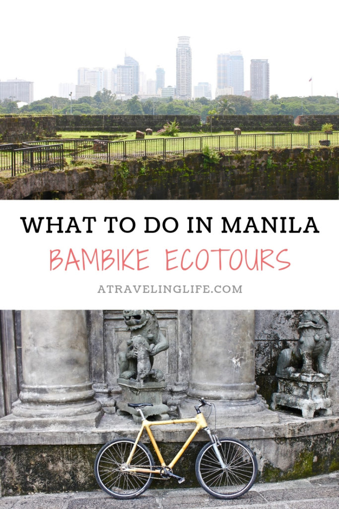 If you're in the Philippines and looking for what to do in Manila, then head to Bambike Ecotours in Intramuros and learn about the city's history while riding a hand-crafted bamboo bicycle. | The Best Things to Do in Manila | The Best Ecotours in the Philippines | #itsmorefuninthephilippines #adventuretravel #budgettravel #Philippines