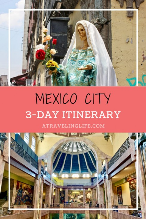 This extensive guide outlines a three-day Mexico City itinerary, along with where to stay in Mexico City, where to eat in Mexico city, where to drink in Mexico City, how to get around Mexico City, and more! | Three Days in Mexico City | #visitMexico