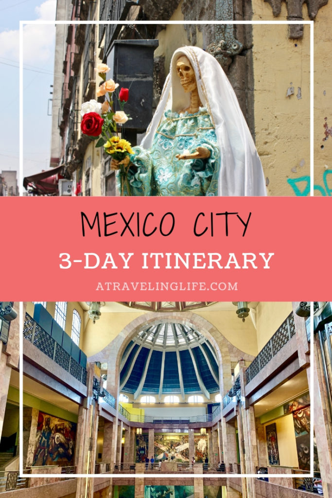 This extensive guide outlines a three-day Mexico City itinerary, along with where to stay in Mexico City, where to eat in Mexico city, where to drink in Mexico City, how to get around Mexico City, and more!|Three Days in Mexico City|#visitMexico